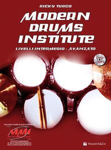 Antondemarirreguera.es Modern drums institute. Livello intermedio/avanzato. Con DVD Image
