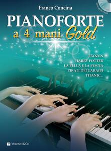 Promoartpalermo.it Pianoforte a 4 mani. Ediz. gold. Con CD-Audio Image