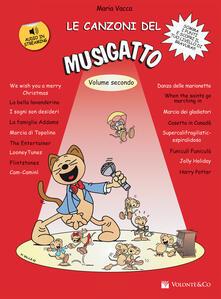 Filippodegasperi.it Le canzoni del Musigatto. Con CD-Audio. Vol. 2 Image