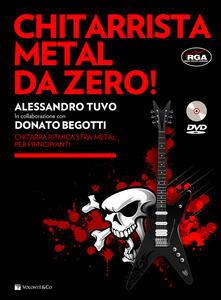 Partyperilperu.it Chitarrista metal da zero! Con DVD Image