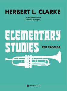 Nordestcaffeisola.it Elementary studies per tromba. Ediz. italiana Image