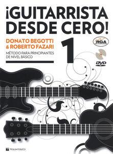 Guitarrista desde cero! Con DVD Audio