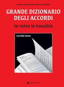 Grande dizionario degli accordi in tutte le tonalità. Livello base.pdf