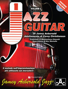 Aebersold. Con 2 CD-Audio. Vol. 1: Jazz guitar.