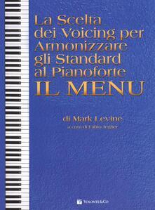 Camfeed.it La scelta dei voicing per armonizzare gli standard al pianoforte. Il menu Image