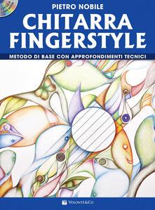 Ipabsantonioabatetrino.it Chitarra fingerstyle. Metodo di base con approfondimenti tecnici. Con video online. Con CD-Audio Image