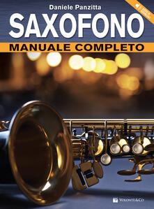Saxofono. Manuale completo. Con CD-Audio. Con File audio per il download.pdf
