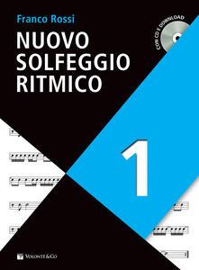 Winniearcher.com Nuovo solfeggio ritmico. Con CD-Audio. Con File audio per il download. Vol. 1 Image