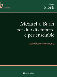 Winniearcher.com Mozart e Bach duo chitarre. Spartito Image