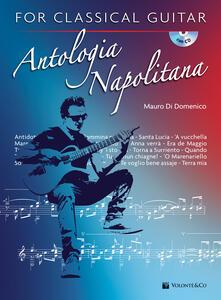 Antologia napolitana for classical guitar. Con CD-Audio.pdf