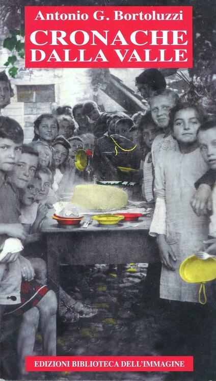 Cronache della valle - Antonio G. Bortoluzzi - copertina