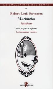 Markheim. Testo originale a fronte