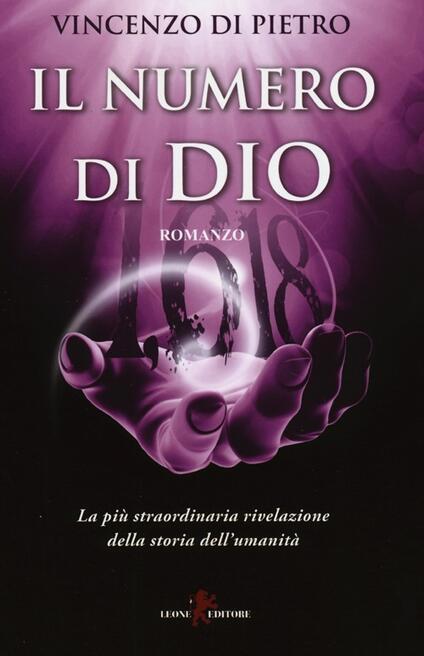 Il numero di Dio - Vincenzo Di Pietro - copertina