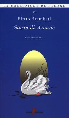 Storia di Aronne - Pietro Brambati - copertina