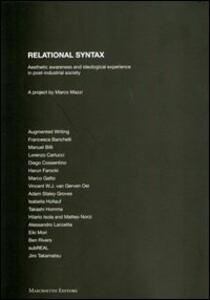 Relational syntax