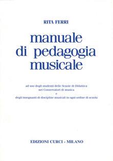 Librisulladiversita.it Manuale di pedagogia musicale Image