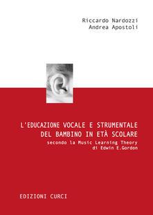 Equilibrifestival.it L' educazione vocale e strumentale del bambino in età scolare secondo la Music Learning Theory di Edwin E. Gordon Image