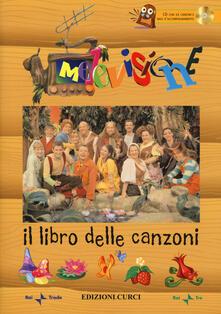 Osteriacasadimare.it Melevisione. Il libro delle canzoni. Con CD-Audio Image