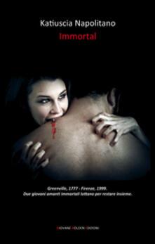 Immortal - Katiuscia Napolitano - copertina