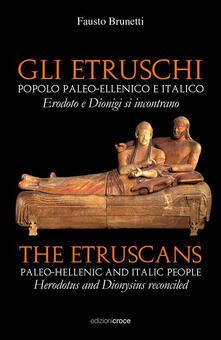 Daddyswing.es Gli Etruschi. Popolo paleoellenico e italico. Ediz. multilingue Image