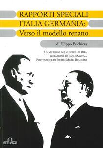 Rapporti speciali Italia Germania: verso il modello renano
