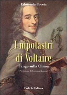 Nipotastri di Voltaire. Fango sulla Chiesa - Edmondo Coccia - copertina