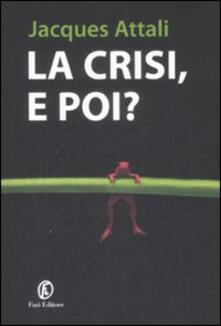 Radiospeed.it La crisi, e poi? Image