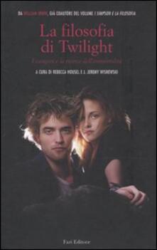 Filippodegasperi.it La filosofia di Twilight. I vampiri e la ricerca dell'immortalità Image