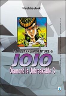 Milanospringparade.it Diamond is unbreakable. Le bizzarre avventure di Jojo. Vol. 3 Image