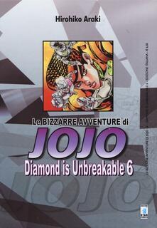 Winniearcher.com Diamond is unbreakable. Le bizzarre avventure di Jojo. Vol. 6 Image