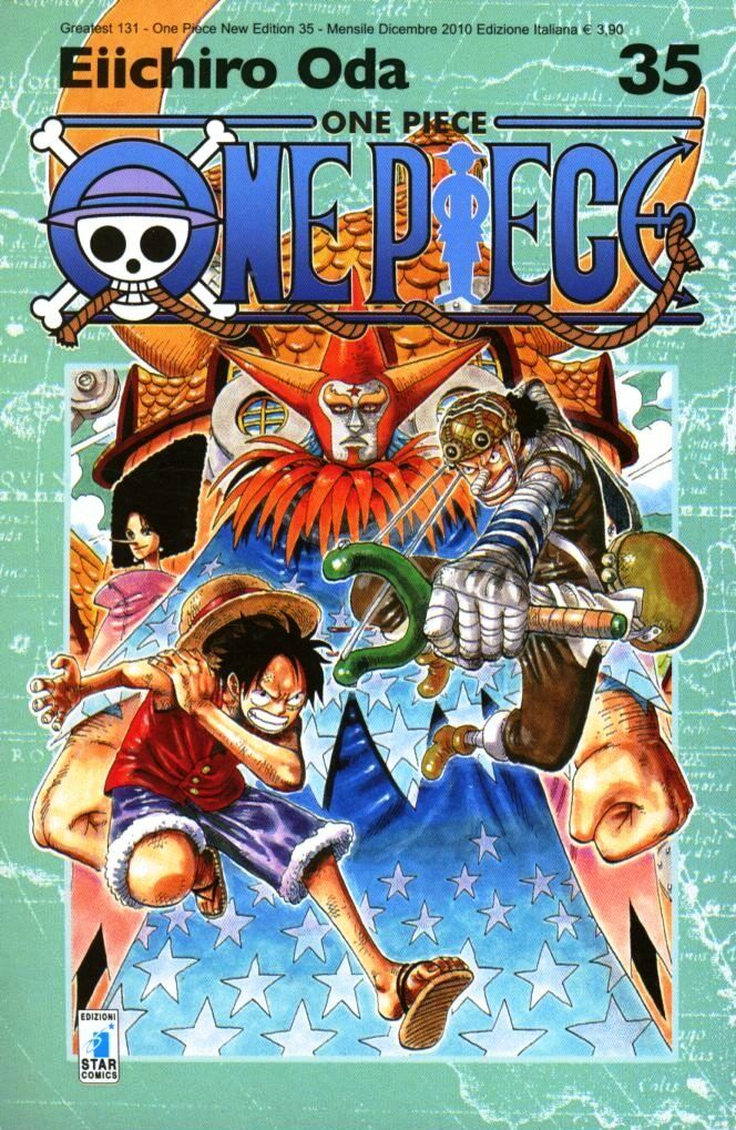 One piece. New edition. Vol. 35