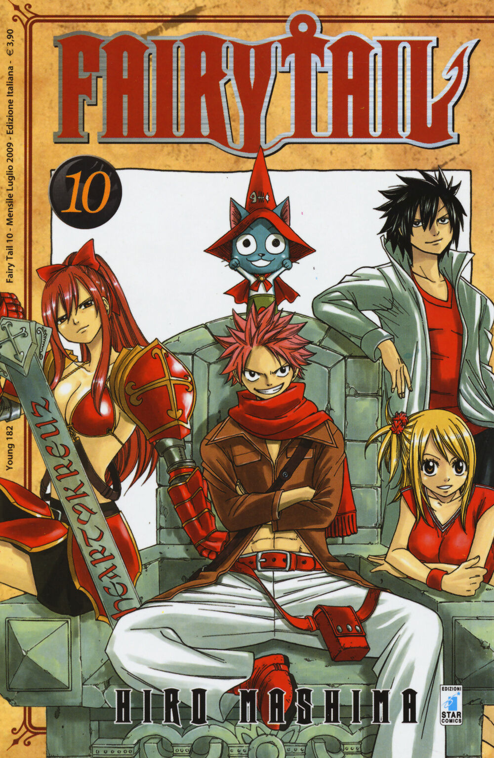 Fairy Tail. Vol. 10