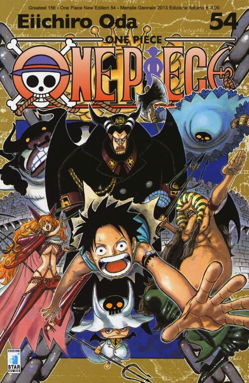One piece. New edition. Vol. 54