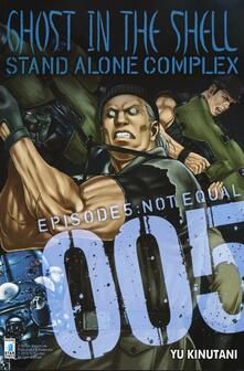 Mercatinidinataletorino.it Ghost in the shell. Stand alone complex. Vol. 5 Image
