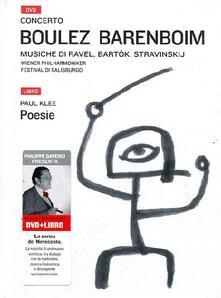 Premioquesti.it Boulez Barenboim. Con DVD Image