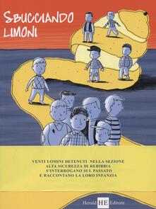 Sbucciando i limoni - copertina