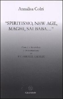 Voluntariadobaleares2014.es Spiritismo, New Age, maghi, Sai Baba... Image