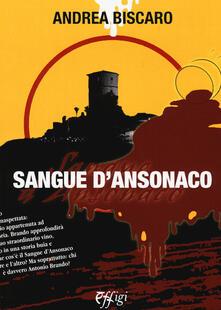 Sangue d'Ansonaco - Andrea Biscàro - copertina