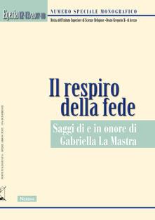 Ristorantezintonio.it Egeria. Rivista dell'Istituto Superiore di scienze religiose «Beato Gregorio X» di Arezzo. Vol. 12-13 Image