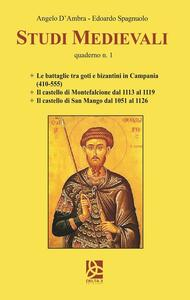 Studi medievali. Quaderno