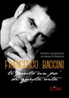 Cefalufilmfestival.it Francesco Baccini. Ti presto un po' di questa vita Image