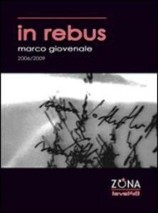 In rebus - Marco Giovenale - copertina