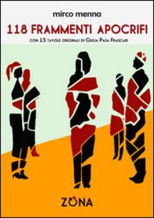 118 frammenti apocrifi - Mirco Menna - copertina