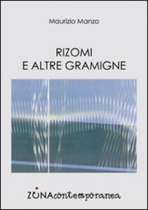Rizomi e altre gramigne - Maurizio Manzo - copertina