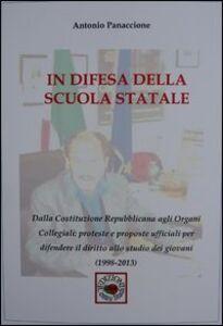 In difesa della scuola statale (1998-2013)