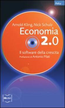 Nicocaradonna.it Economia 2.0. Il software della crescita Image