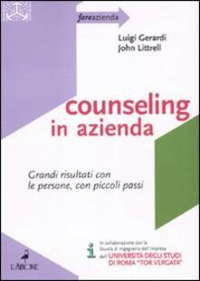 Listadelpopolo.it Counseling in azienda. Grandi risultati con le persone, con piccoli passi Image