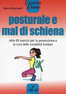 Premioquesti.it Posturale e mal di schiena. Oltre 60 esercizi per la prevenzione e la cura delle instabilità lombari Image