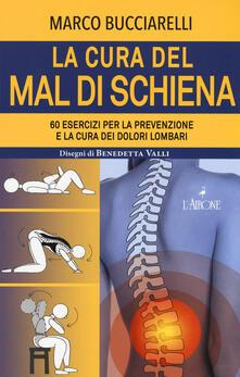 La cura del mal di schiena. 60 esercizi per la prevenzione e la cura dei dolori lombari - Marco Bucciarelli - copertina