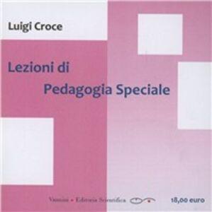 Lezioni di pedagogia e didattica speciali